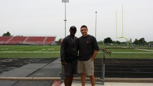 Coach Gilmore and I 2014